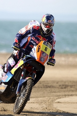 Motorcycle Race Red Bull Dakar Two Turn 76600 720x1280