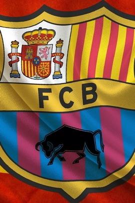 Soccer Flag Fc Barcelona Barca Espanha 95762 720x1280