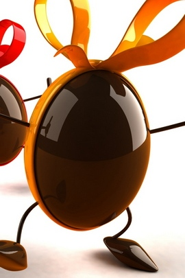 Chocolates Balloons Ribbons Dance 68589 720x1280