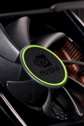 Nvidia公司vga散热器黑色绿色30917 720x1280