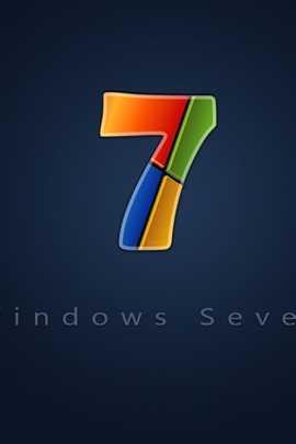 Windows 7 Red Blue Yellow Green 26523 720x1280