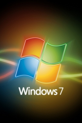 Windows 7のラインロゴRed Yellow Green Blue 29676 720x1280