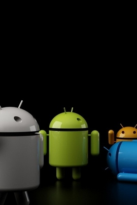 Android Os Robot Gray Blue Green 27569 720x1280