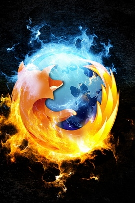 Firefox Browser Internet Black 30985 720x1280