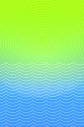 Sun And Ocean Line
