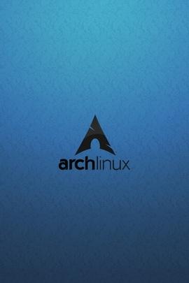 Archlinux Os黑色蓝色34211 720x1280