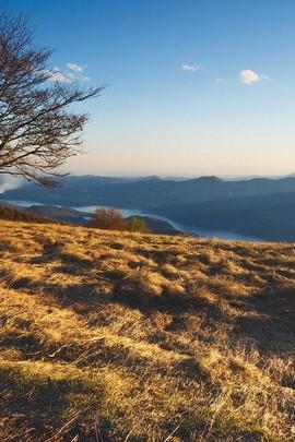 Aussicht vom Hügel