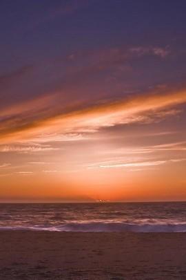 Evening Sunset Beach view