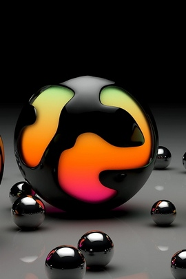 Balls Light Size Surface Many 47707 720x1280
