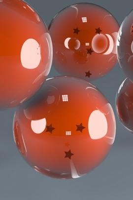Balls Shape Smooth Plastic Glass 47670 720x1280