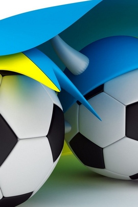 Ball Soccer Sport Ukraine Flag 93386 720x1280