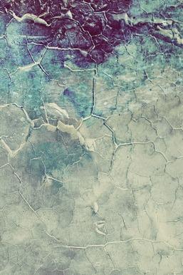 Pattern Blasck Blue Cracks