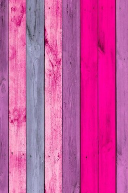 Pink Color Wood