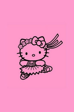 Dacing Hello Kitty