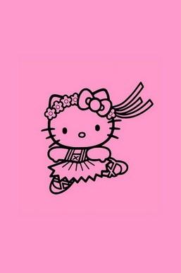 Dacing Hello Kitty