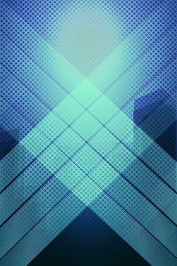 Cross Light Blue Pattern