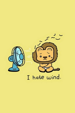 I Hate Wind Lion