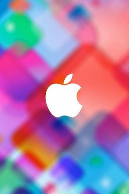 Colorfull Apple Background