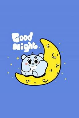 Cute Bear Good Night