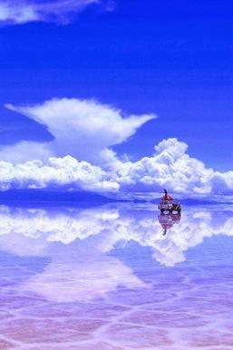 天空之镜(乌尤尼盐沼)