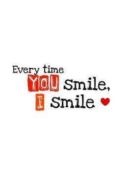 Gülümsediğiniz her zaman