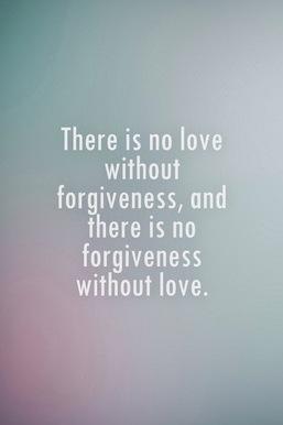 Sevgi ve Bağışlama