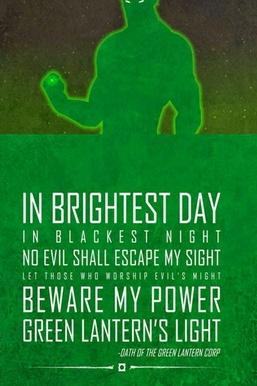 Serment de la lanterne verte