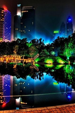Şehir ışığı