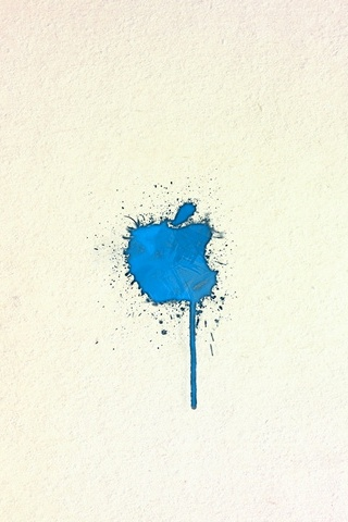 Blue Apple Paint