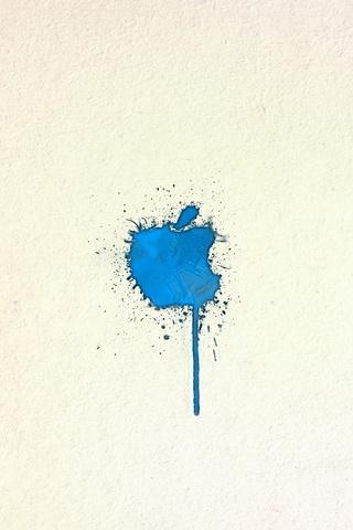 Blue Apple Paint