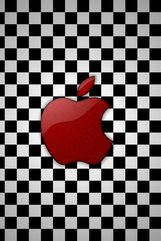 Apple Checkered