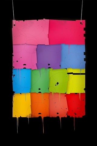 çok renkli