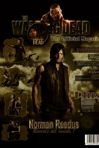 A revista Walking Dead 768 X 1024