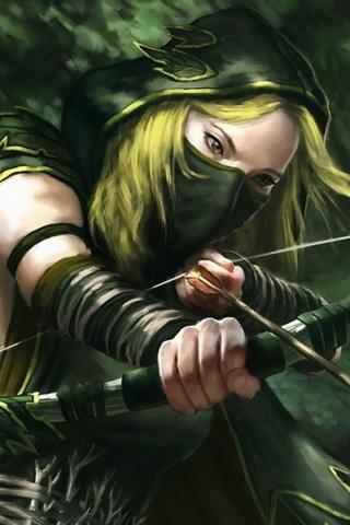 Beauty Archer Girl