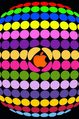 Apple Round Pattern