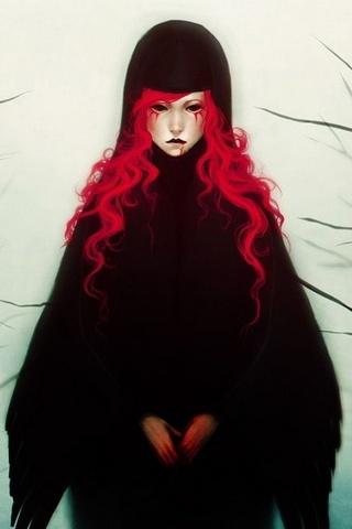 Spooky Redhead