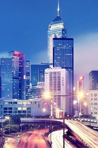 香港在晚上