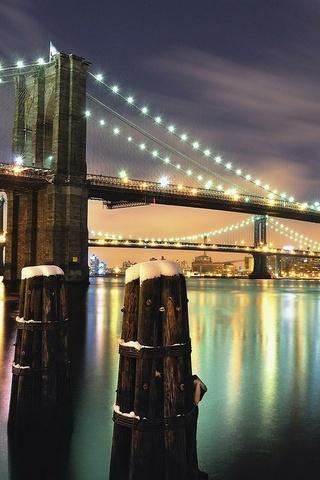 Neon Light Bridge