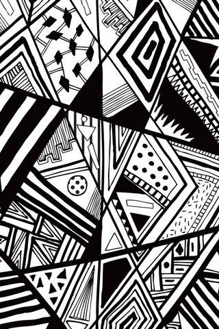 Чорний білий каракул