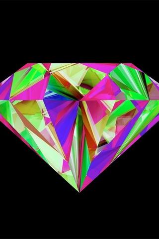 화려한 다이아몬드