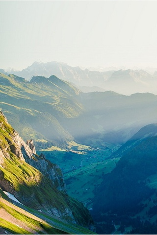 Swiss Mountain Hill Alps