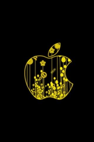 Stilvoller Apfel
