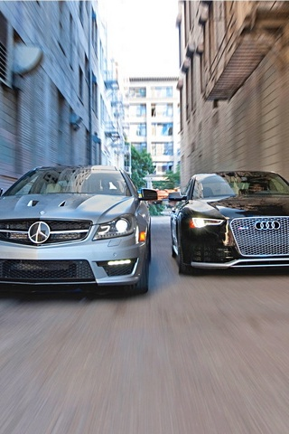 Audi Rs5 i Mercedes Benz C63 Amg
