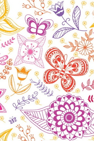 Florals 패턴