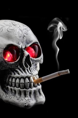 Tengkorak Merokok