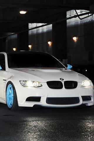 BMW White