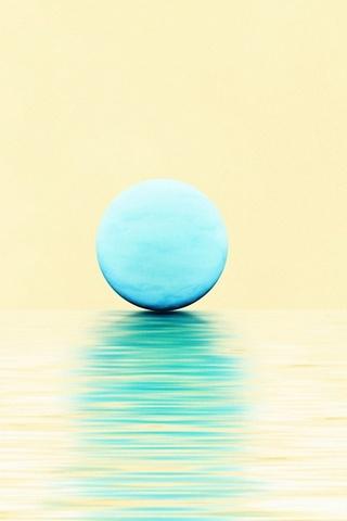 Голубая луна и океан