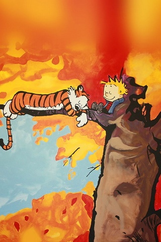 Calvin And Hobbes Tree Nap
