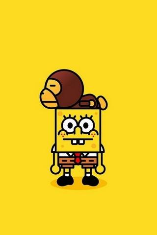 Sponge Bob & Bape