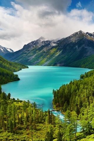 Hermosos lagos de montaña